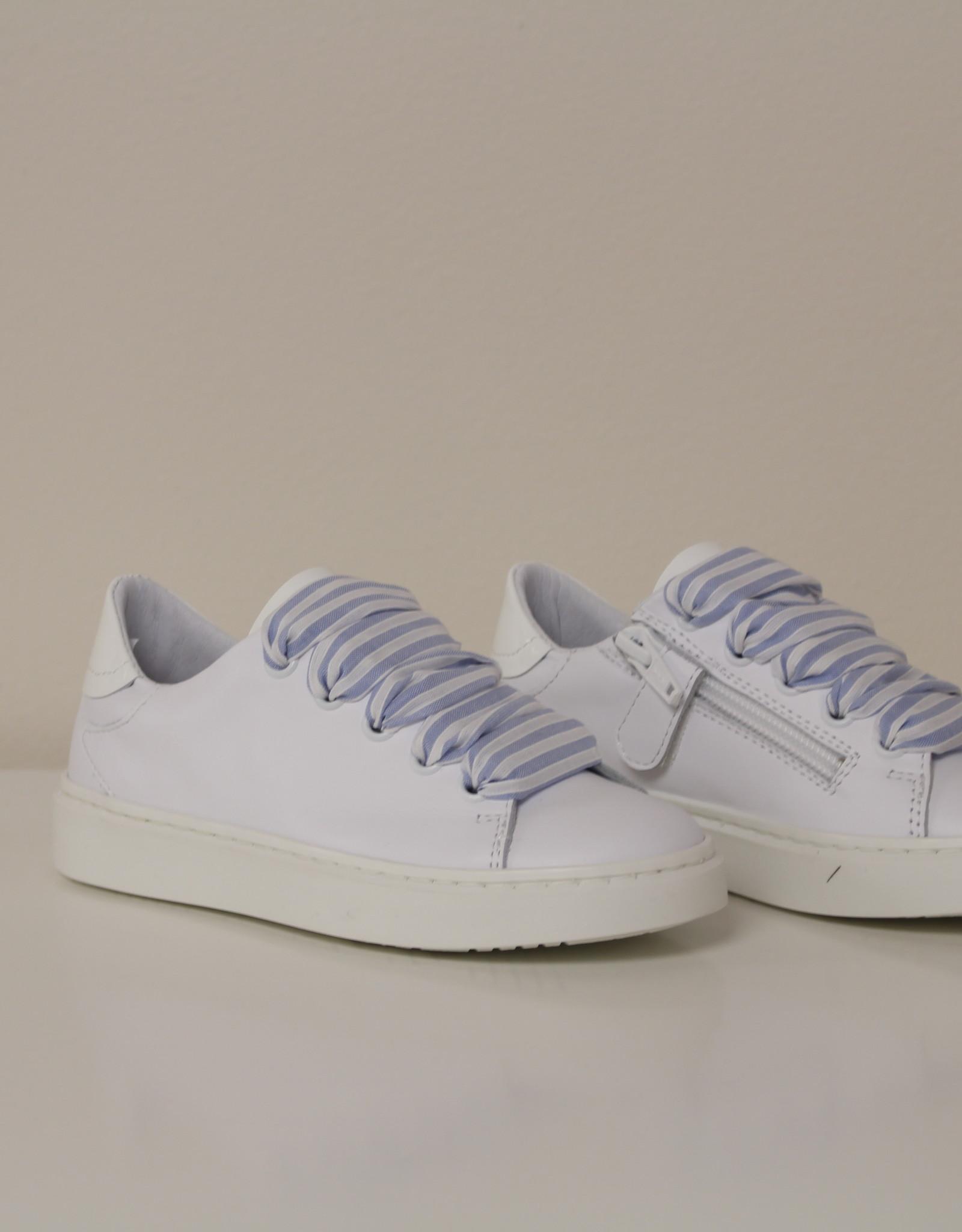 Banaline witte sneaker