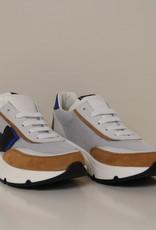 Rondinella 11713D sneaker bruin blauw zwart