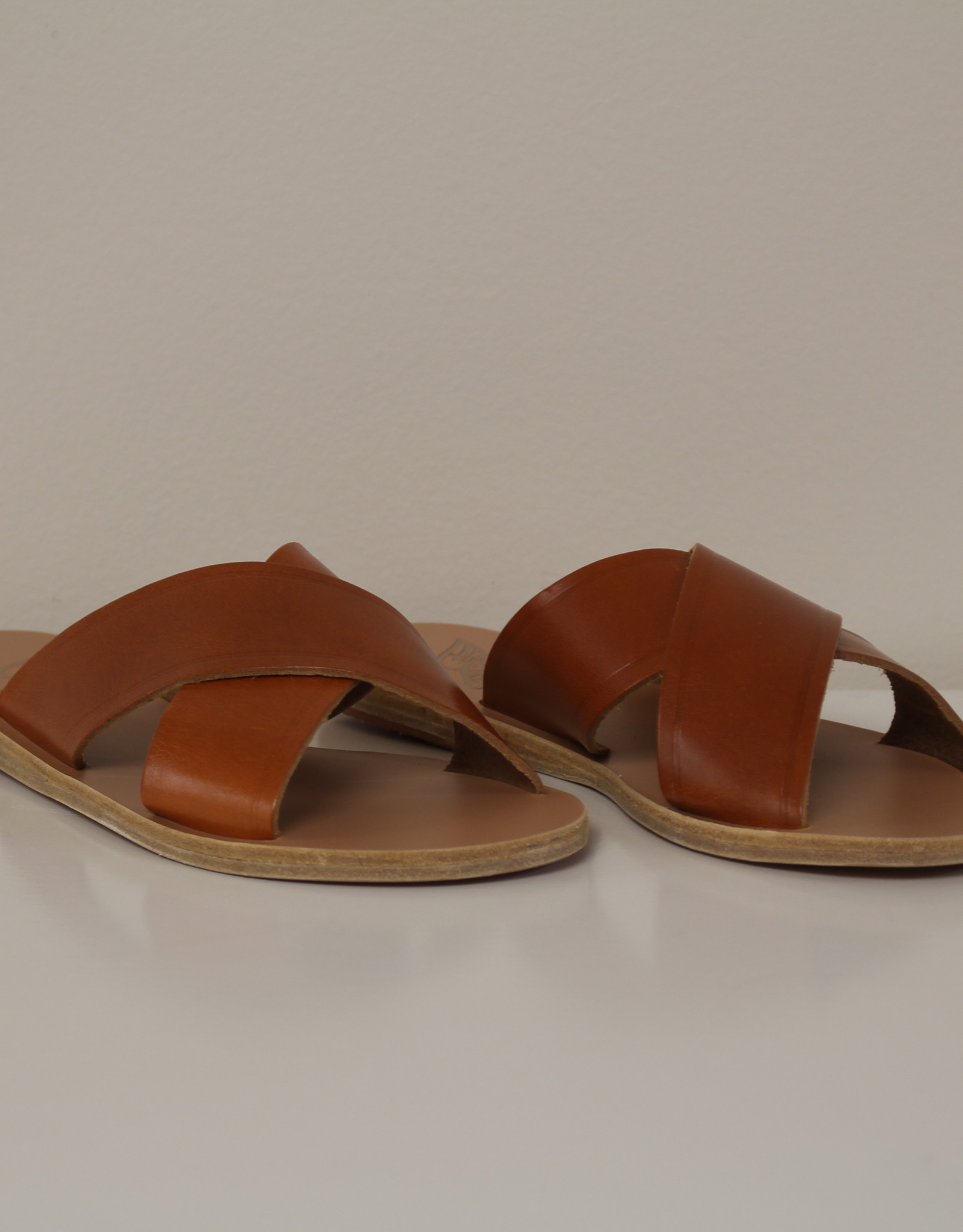 Ancient Greek Sandals Thais lux wood