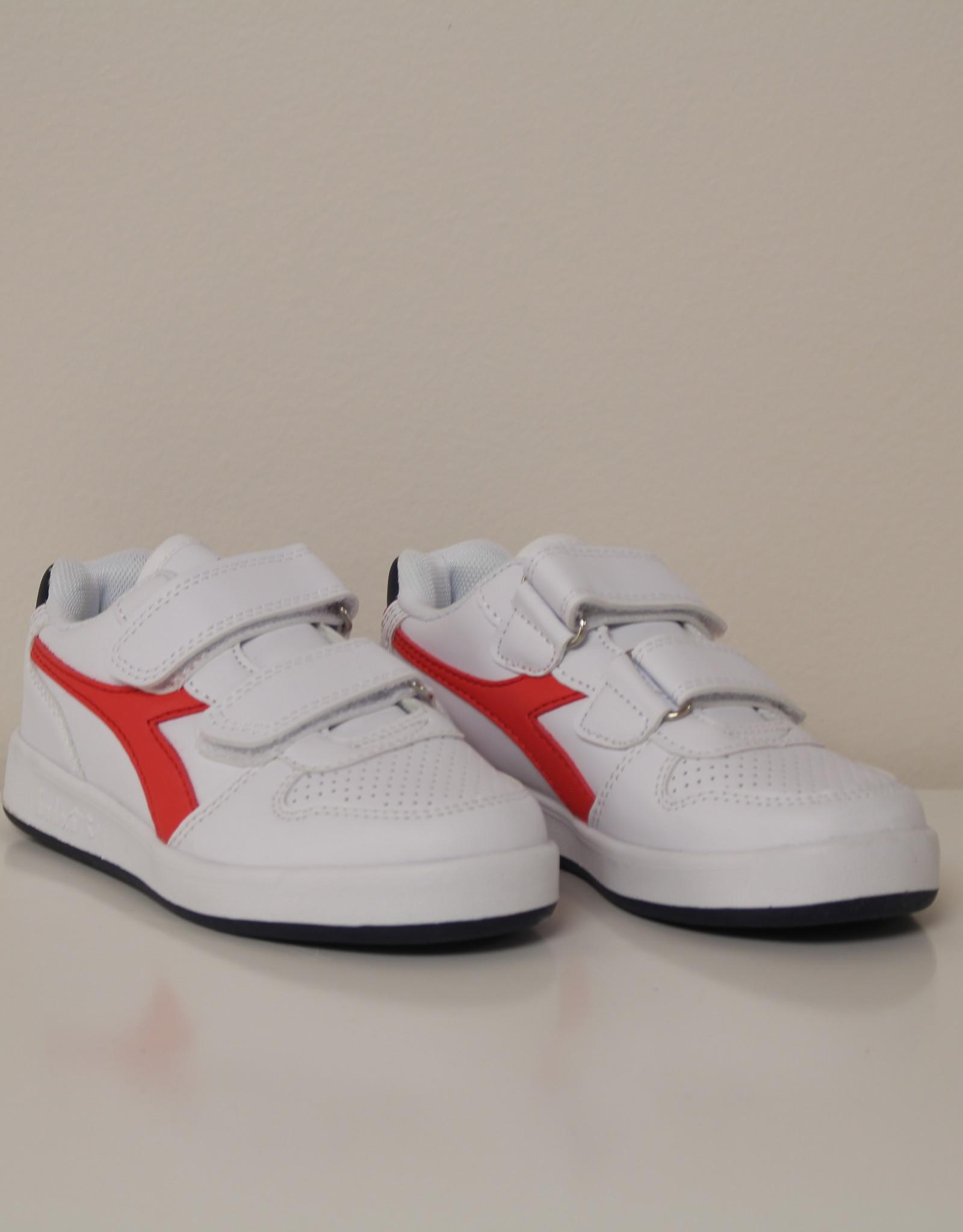 Diadora 101.173300 playground PS white/red