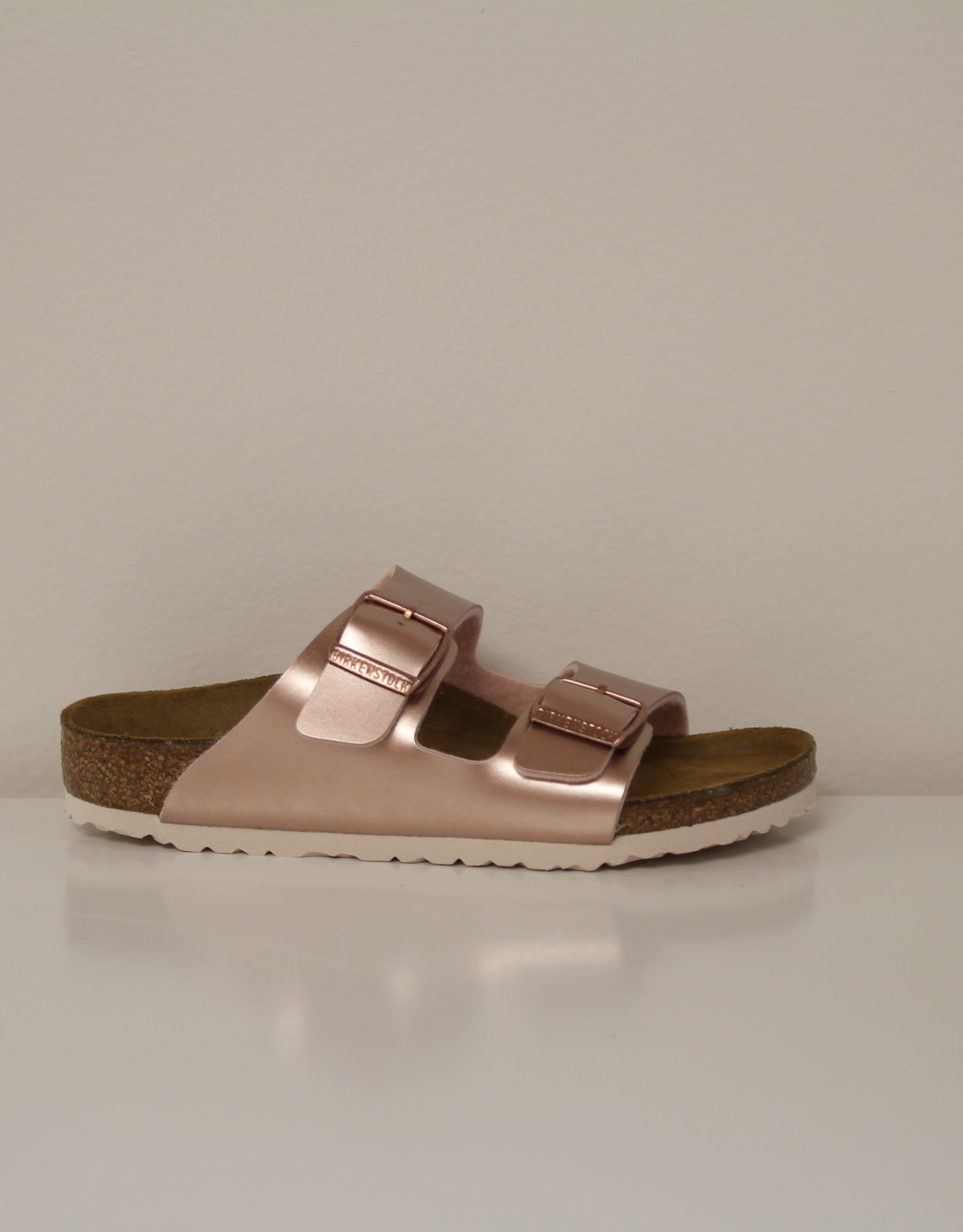 Birkenstock Arizona electric metallic copper