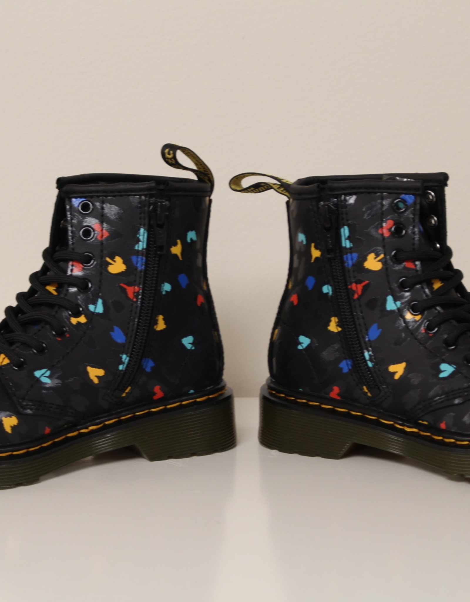Dr Martens 1460 black+multi hydro leather