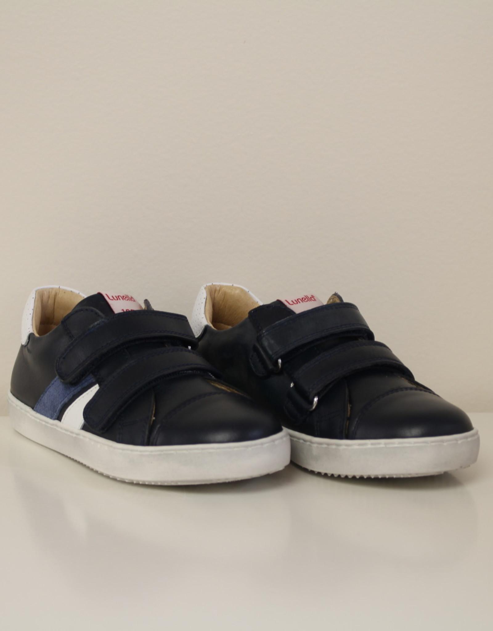 Lunella 20709 blauwe sneaker velcro