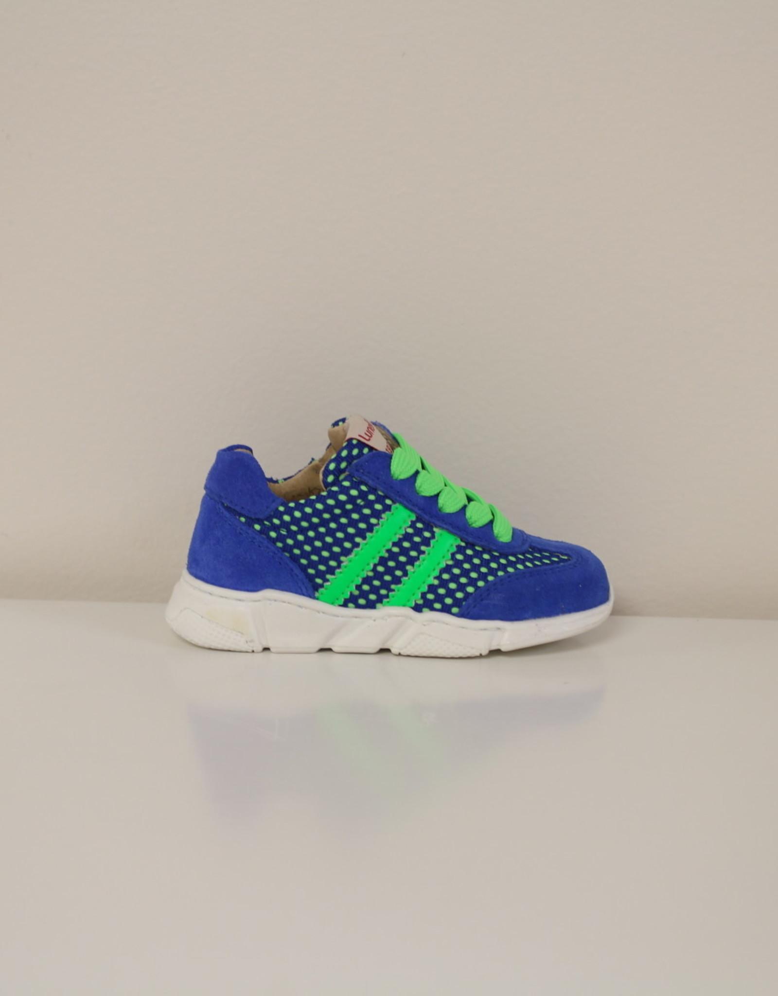 Lunella 20722 basket blauw/groen