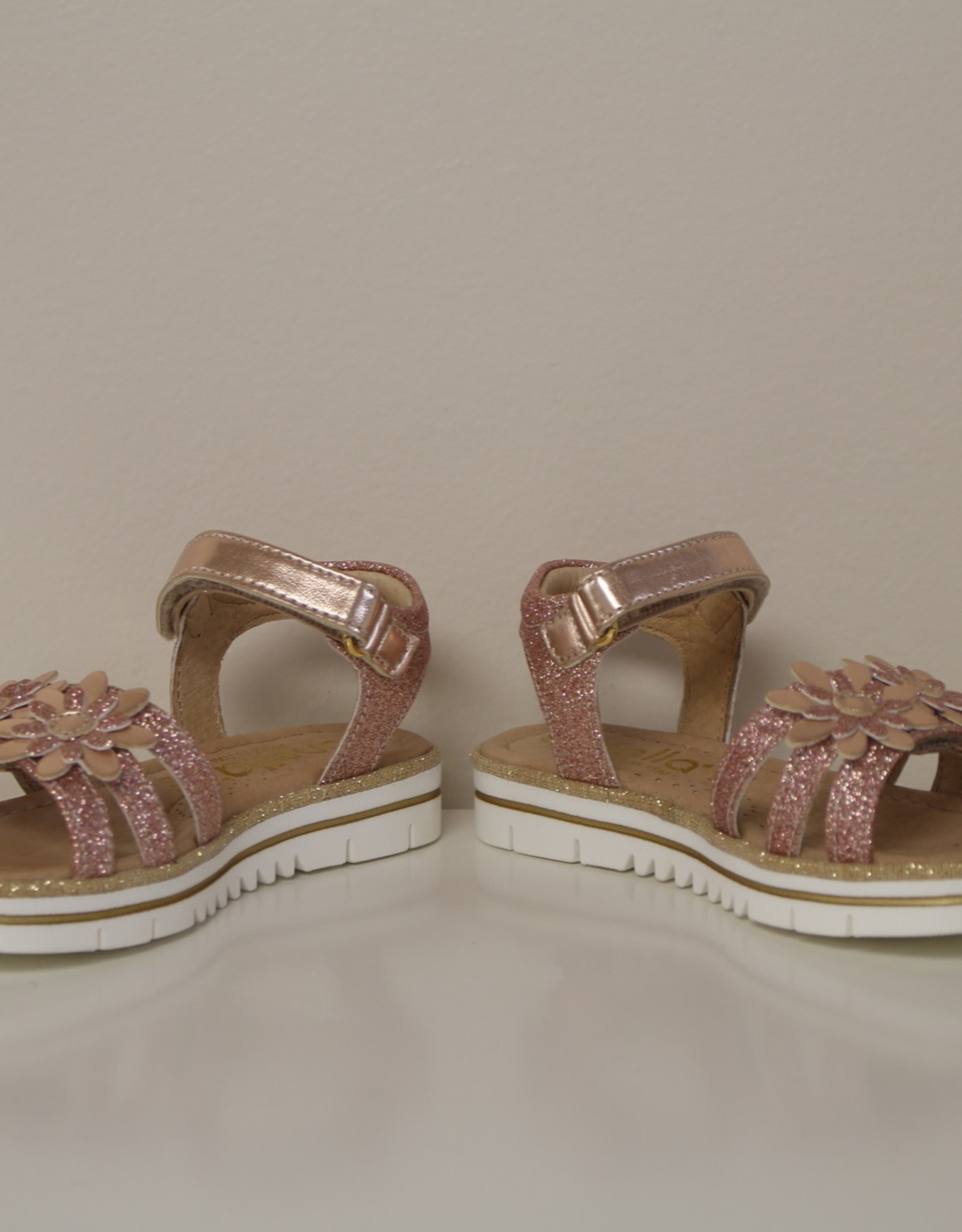 Lunella 20750 sandaal bloem velcro