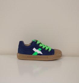 Lunella sneaker jeanskleur veter/rits