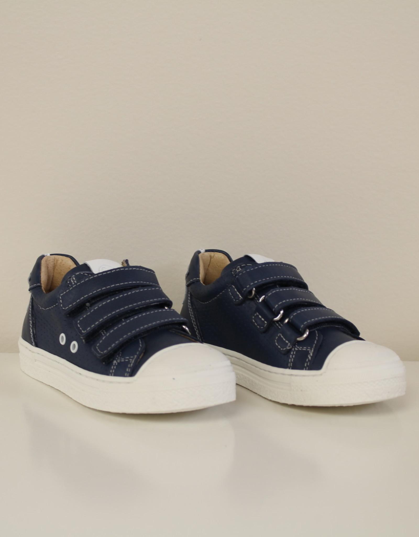 Lunella 20785 blauwe sneaker velcro