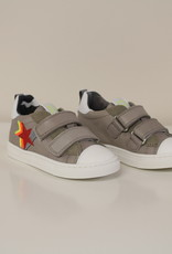 Romagnoli 5109 sneaker velcro grijs