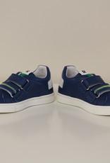 Romagnoli 5106 sneaker donkerblauw velcro