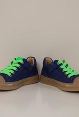 Lunella 20780 sneaker jeanskleur veter/rits