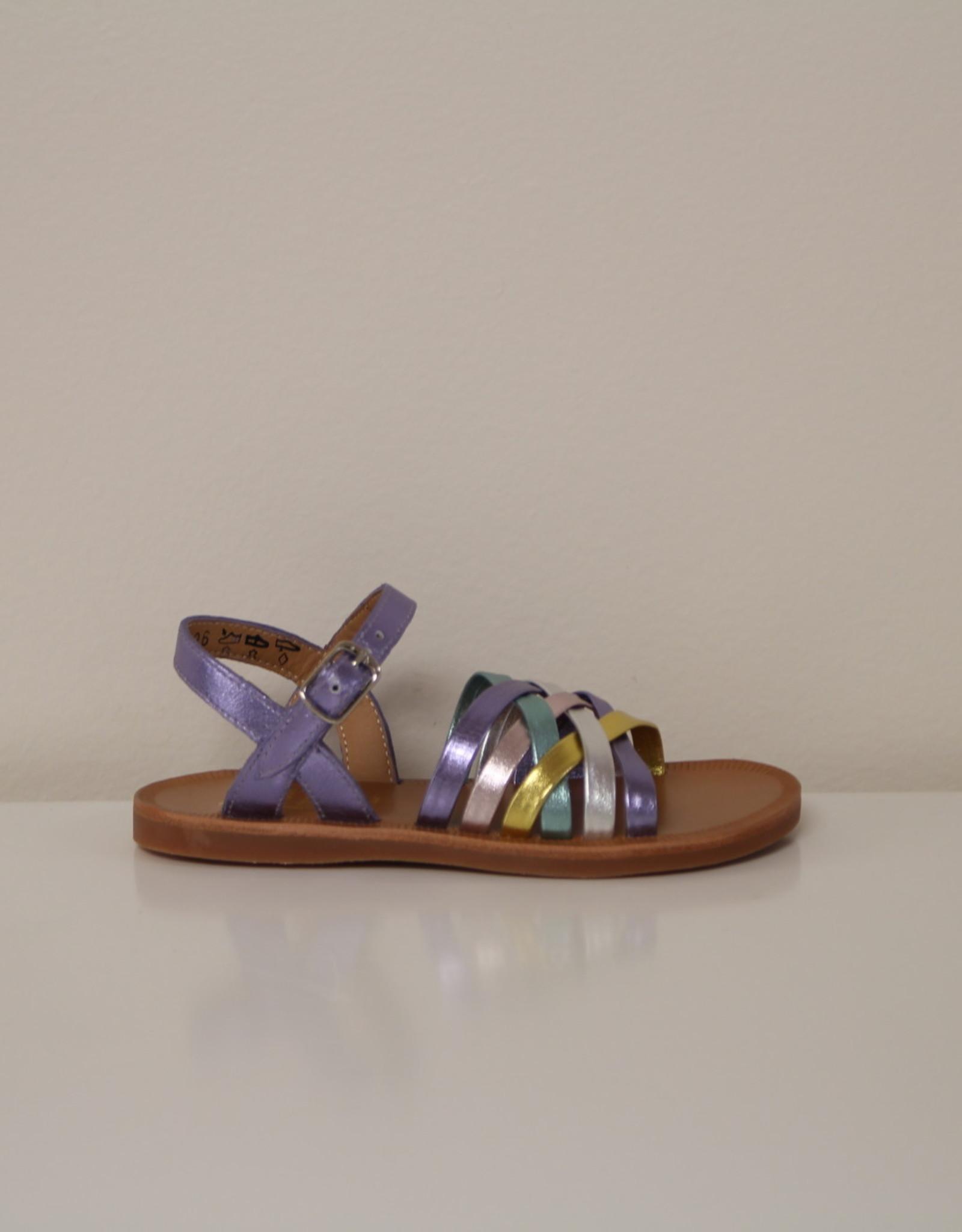 Pom d'Api plagette lux sandaal