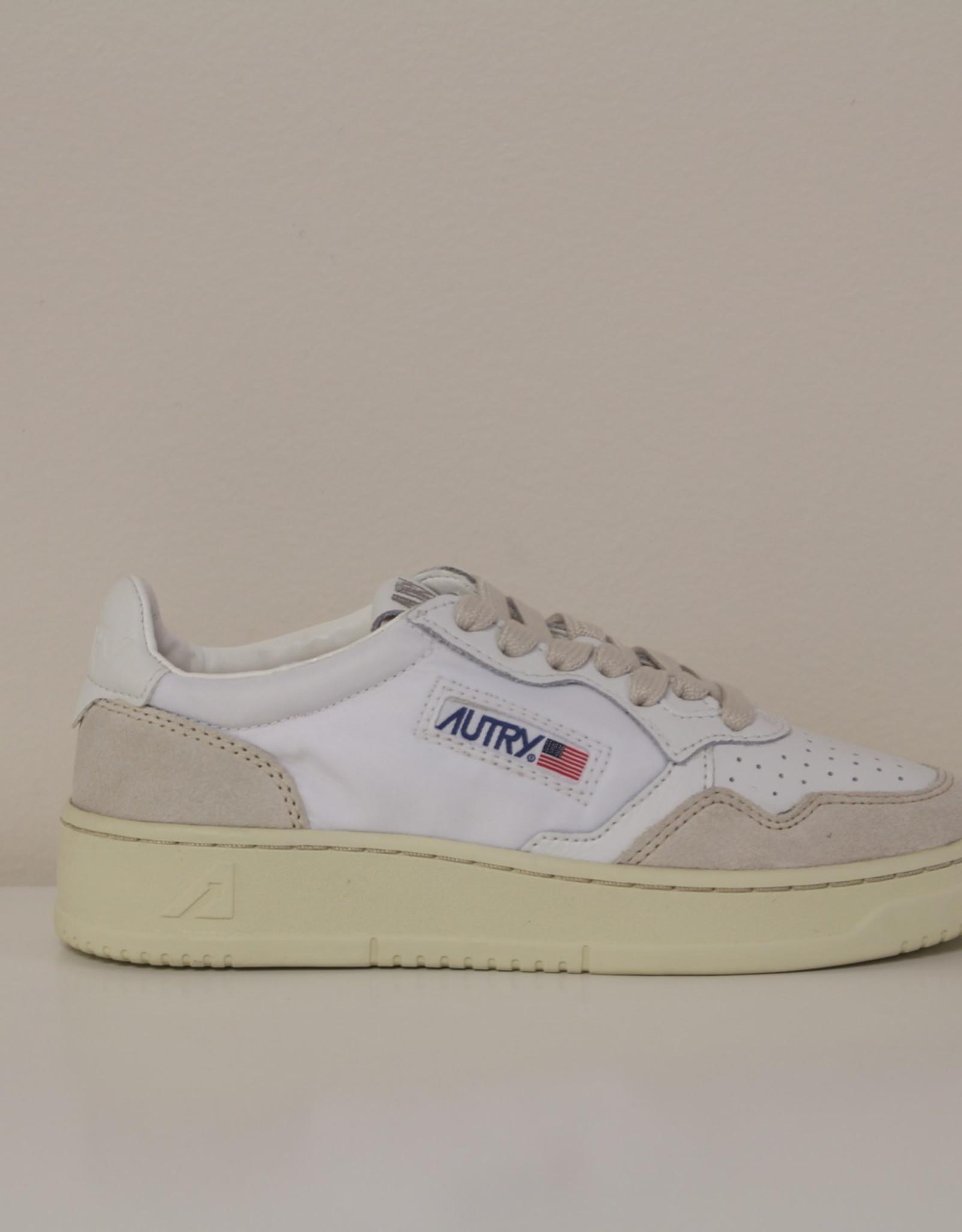 Autry sneaker suede/nylon wit
