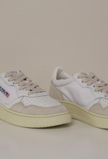 Autry sneaker suede/nylon wit