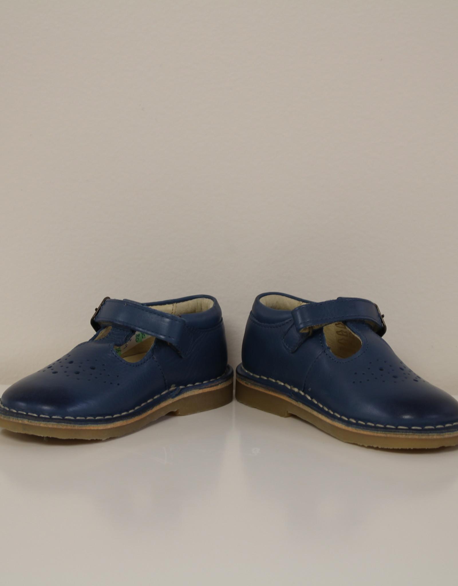 t-bar shoe rubber sole ocean blue