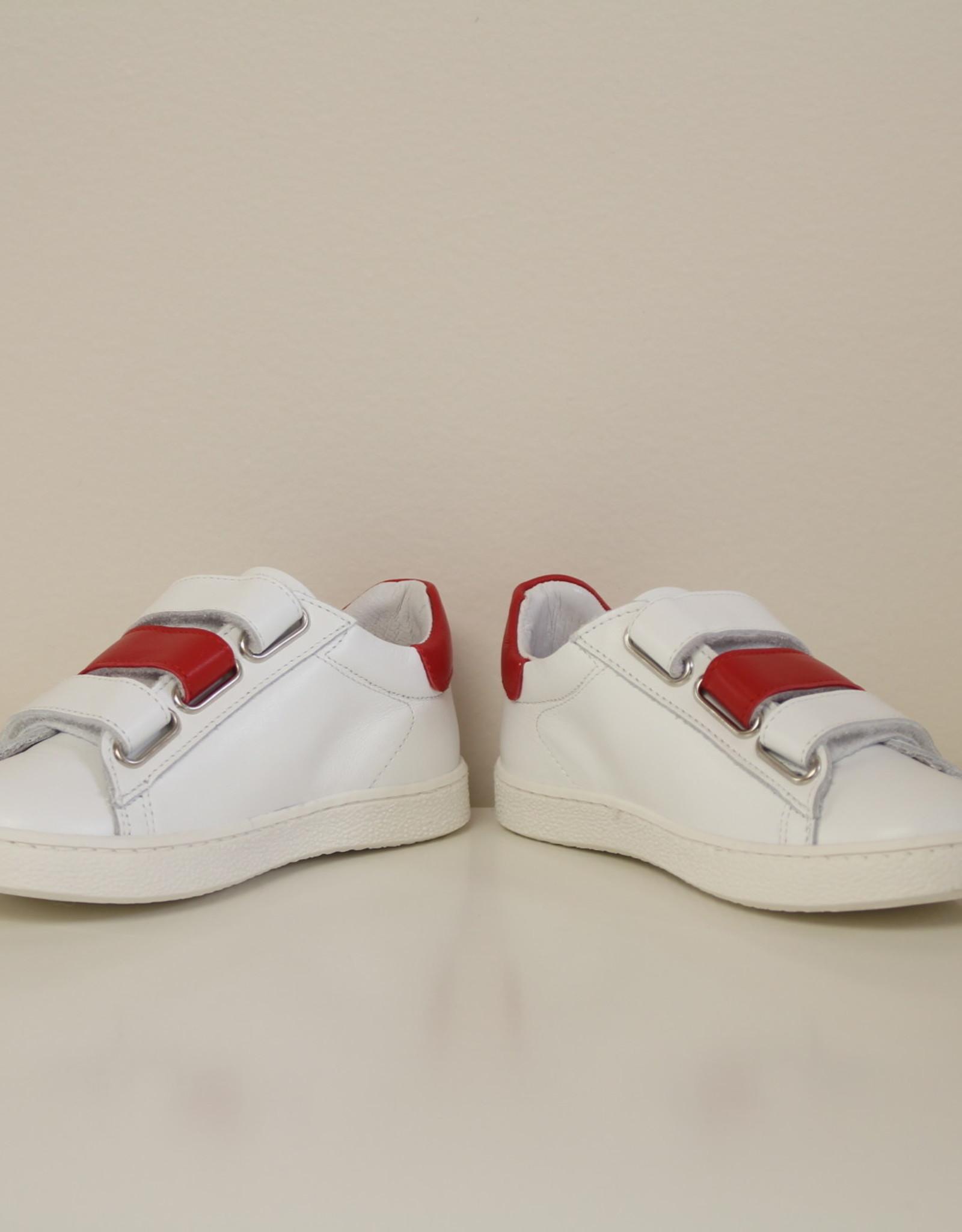 La Triboo 8711 witte sneaker velcro