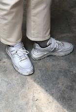 Gallucci J20189AM witte sneaker goud accent