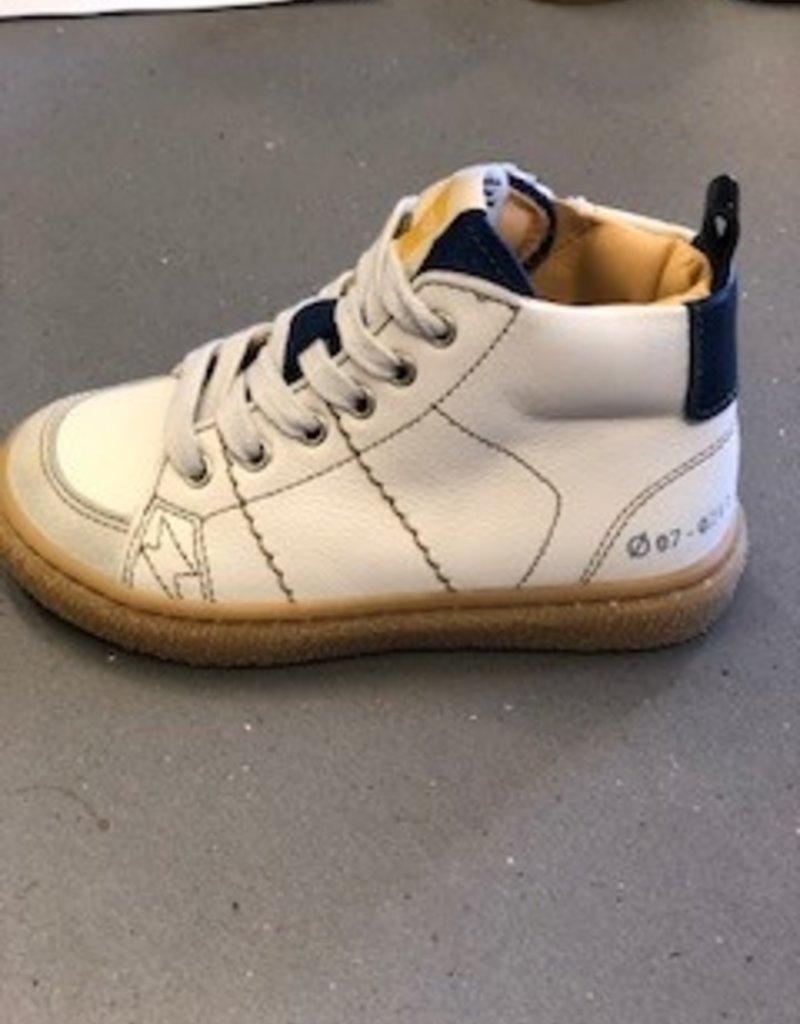 Ocra D302/9 hoge witte sneaker