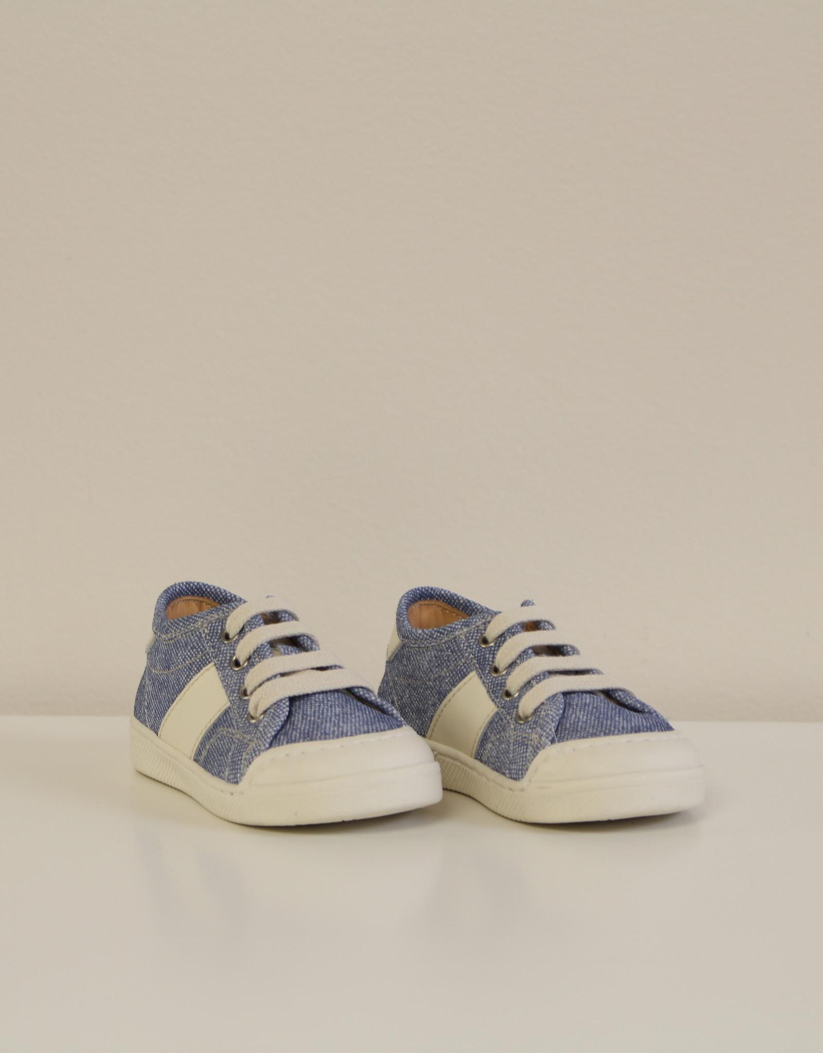Ocra E9D033VS sneaker jeans wit