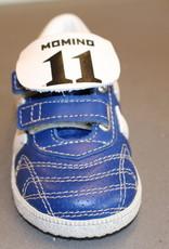 Momino E83461V kobalt blauw / witte streep