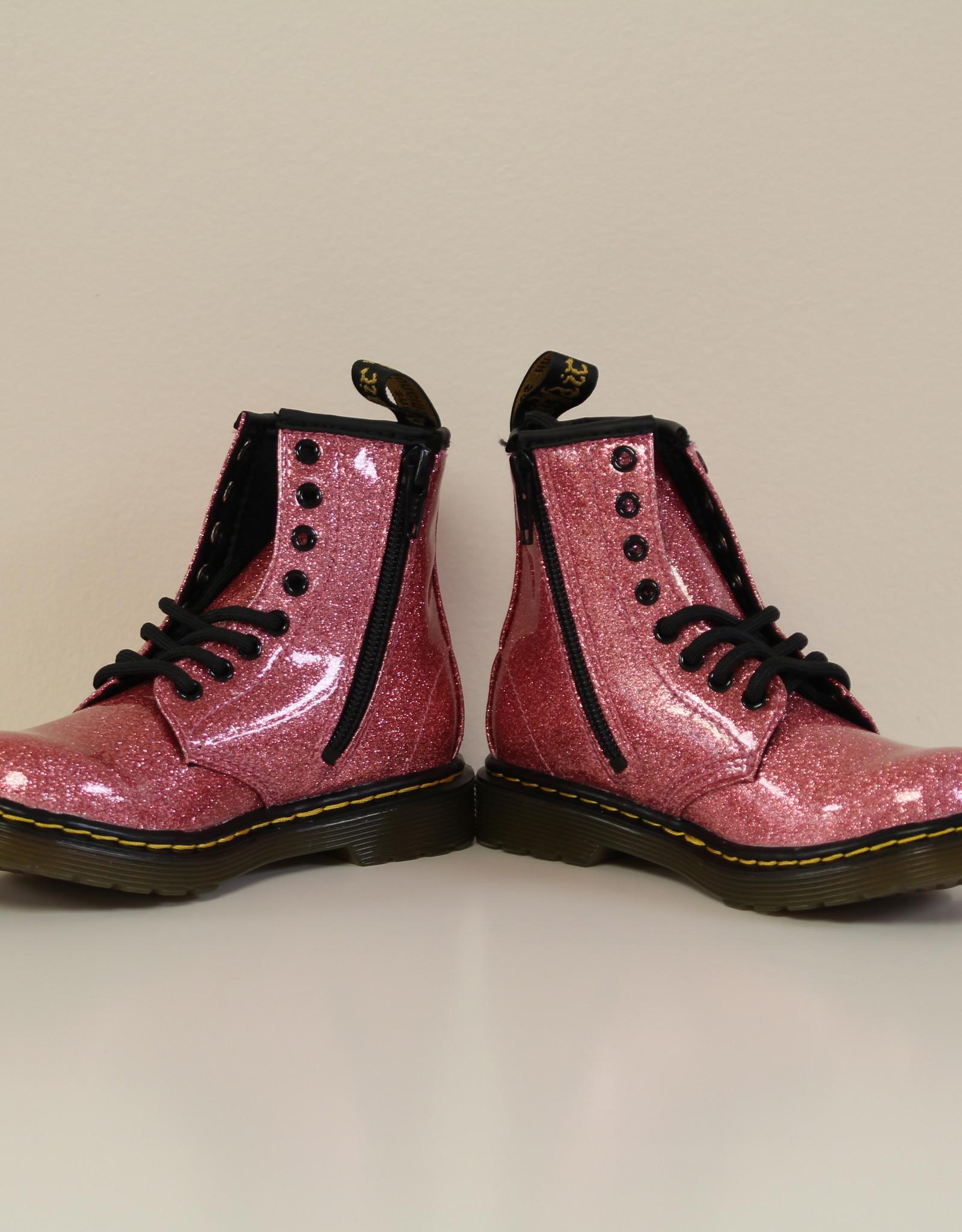 Dr Martens 1460 glitter pink coated