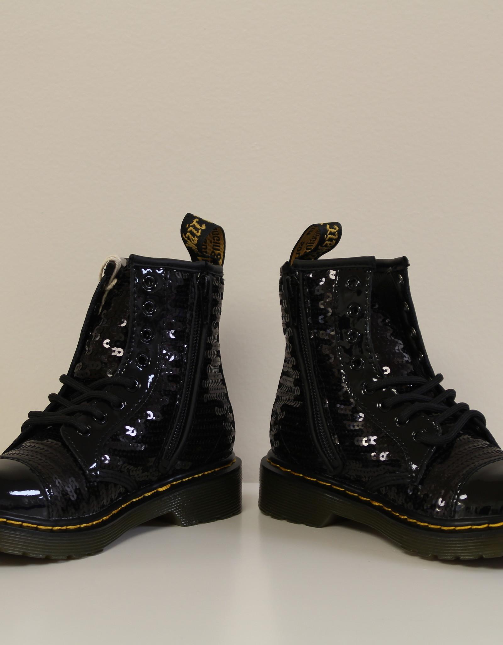 Dr Martens 1460 black sequins