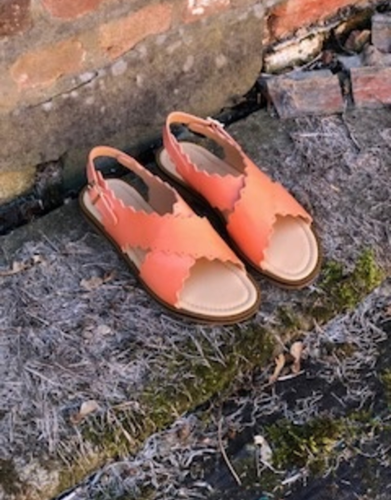 Ocra 440 sandaal meloen