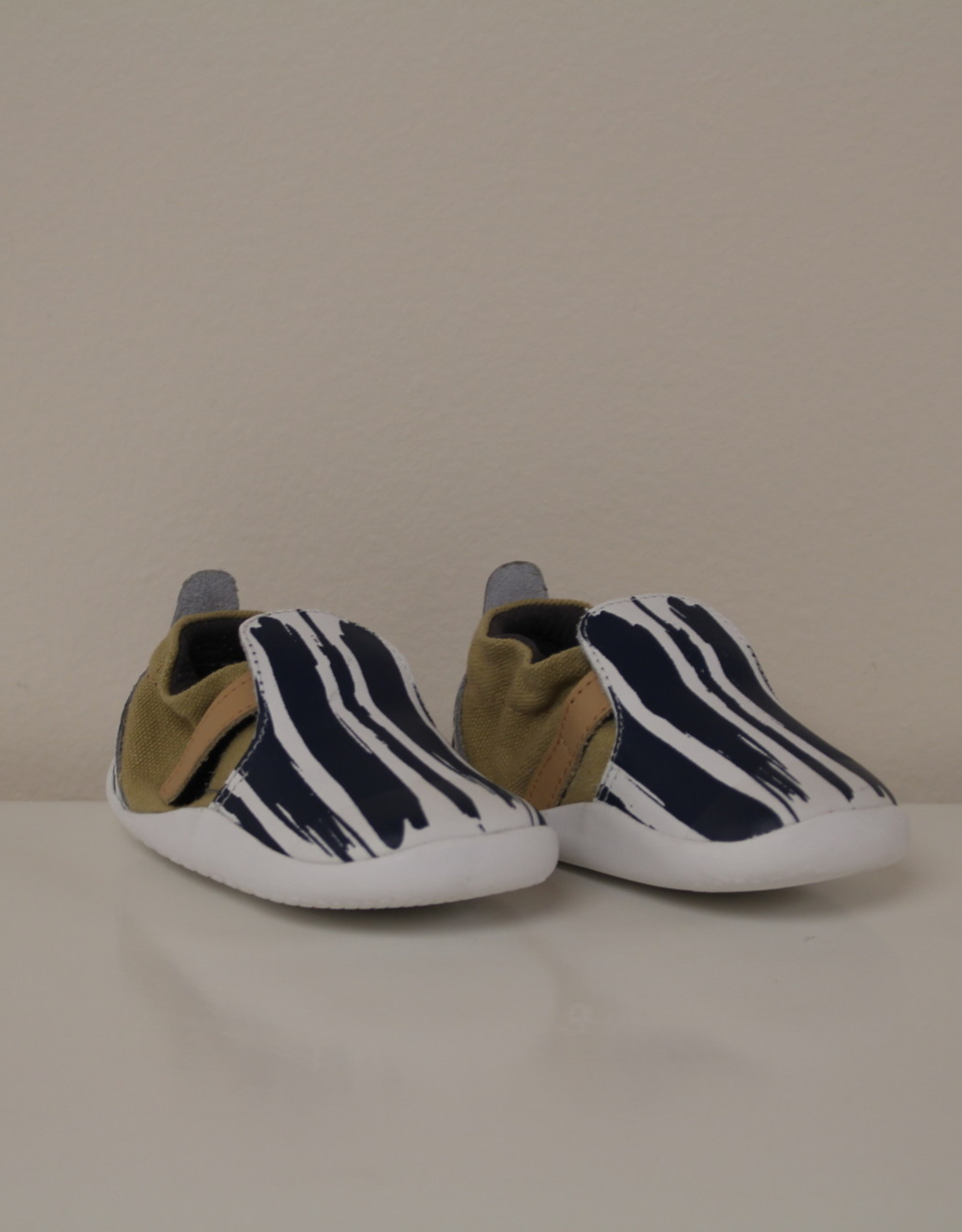 Bobux step-up street xplorer paint navy/wit