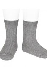 Condor 2016/4 basic wide rib short socks