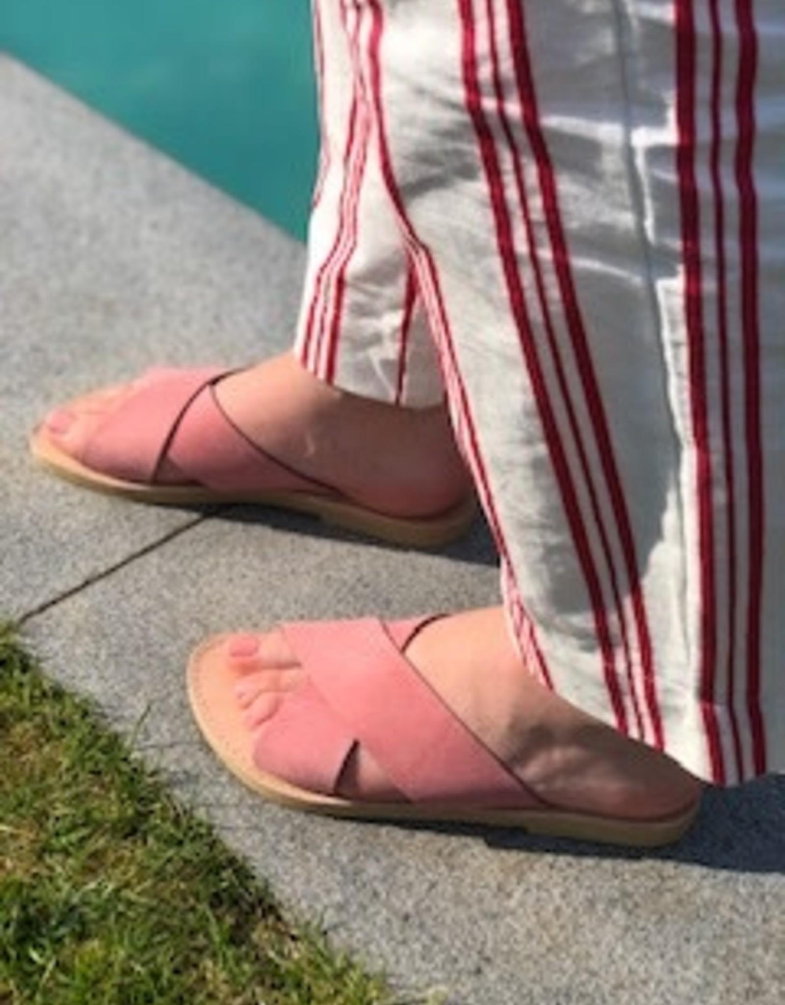 Theluto GAELLE slipper nubuck pink