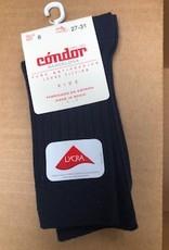 Condor wide-rib basic short socks donkerblauw 2016/4