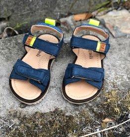 Romagnoli L-beach denim jeans sandaal