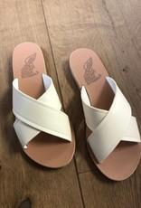 Ancient Greek Sandals thais off white