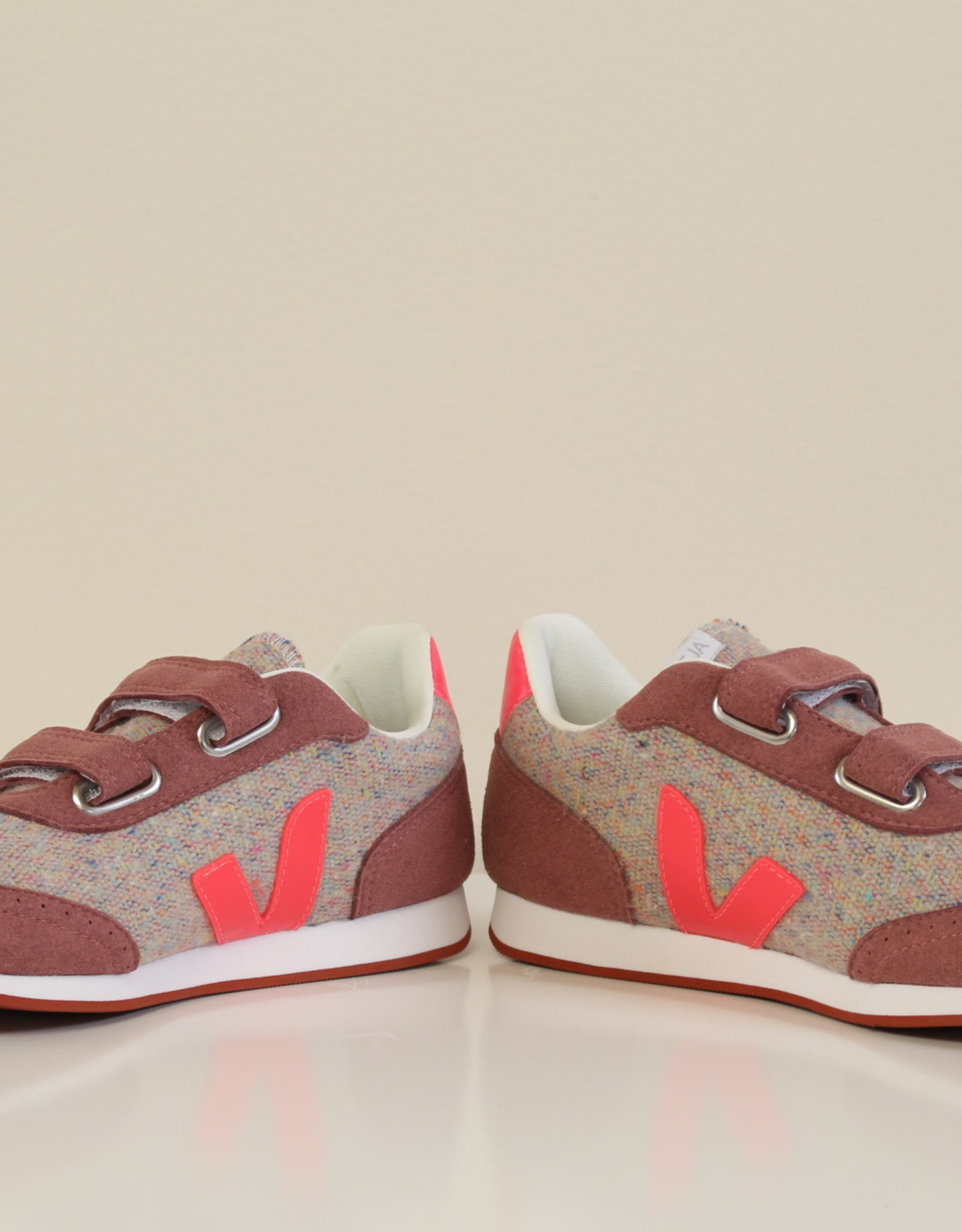 VEJA new arcade flannel cloudy rose fluo
