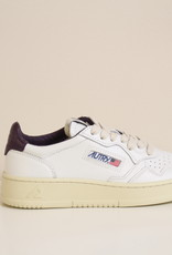 Autry AULWLN19 all leather white/purple