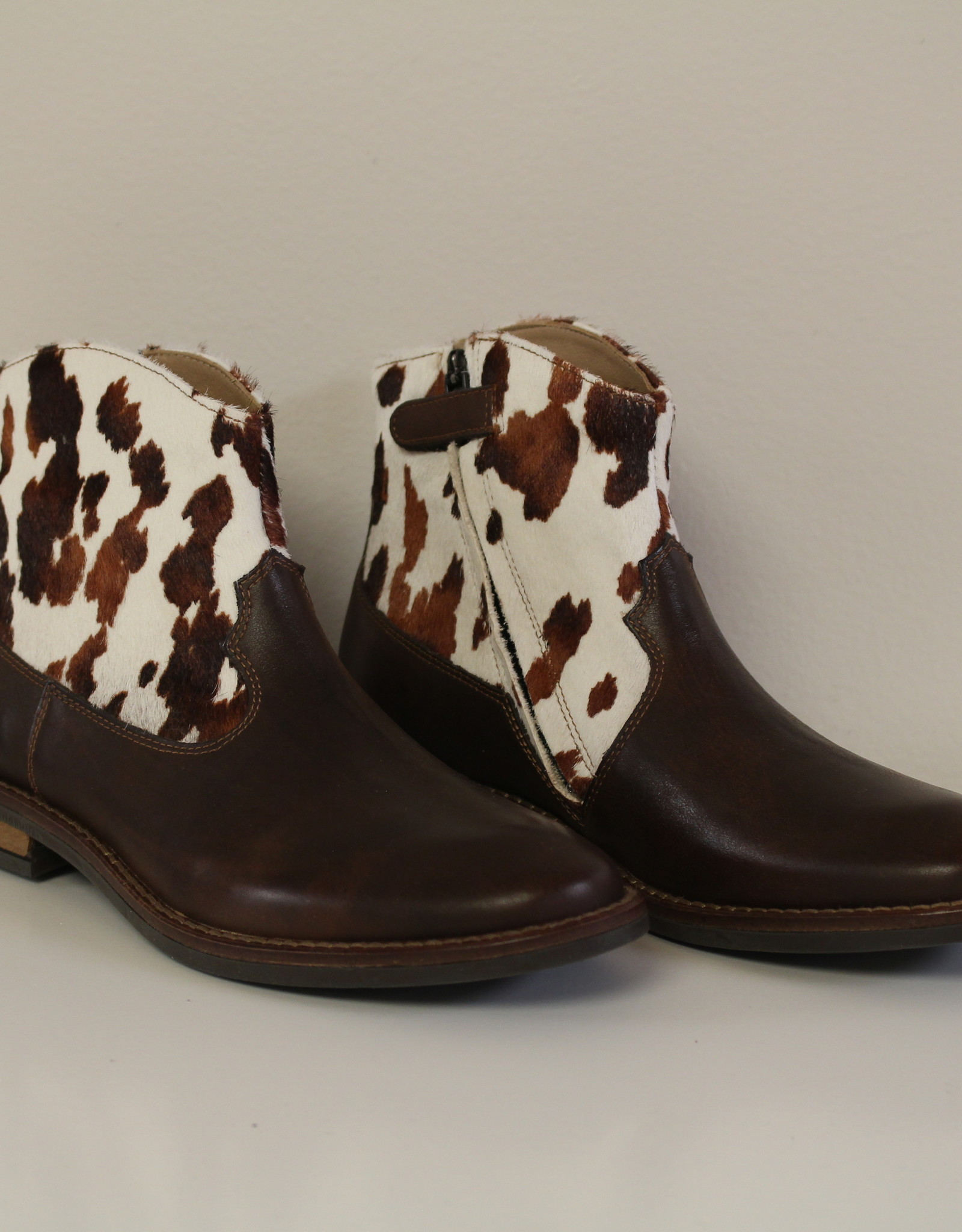 Pom d'Api billy boots donkerbruin print