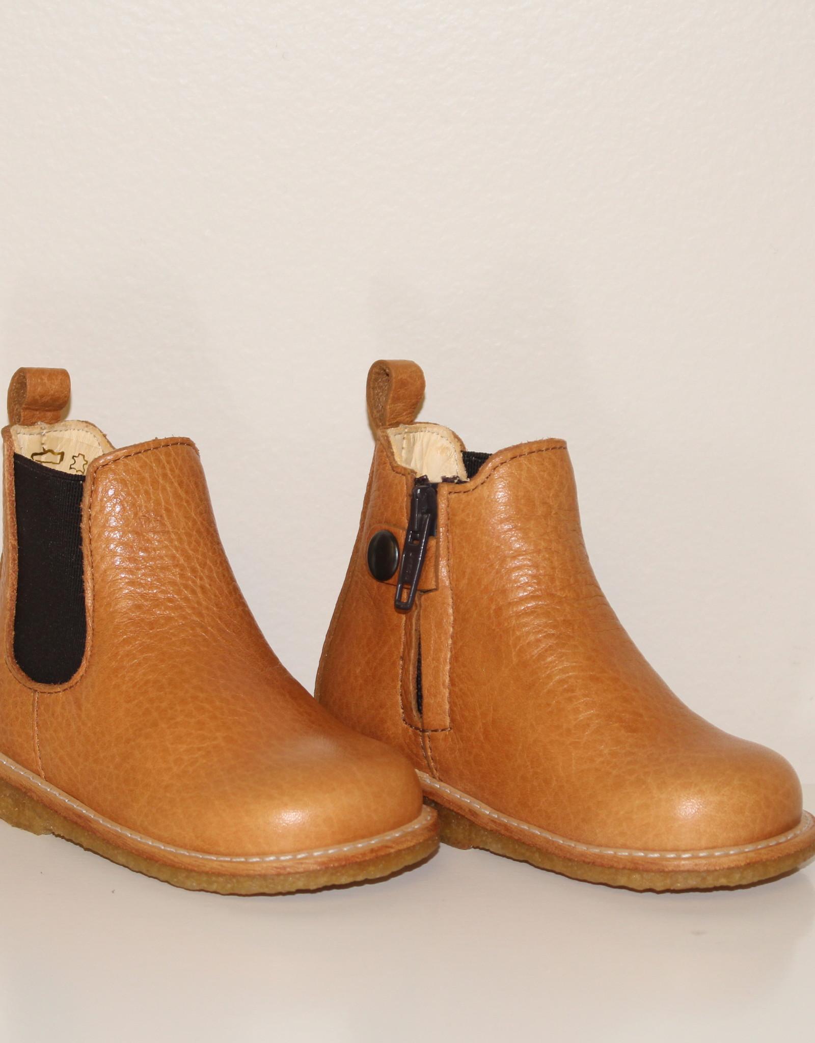 Angulus 6025-101 starter boot elastic cognac/brown