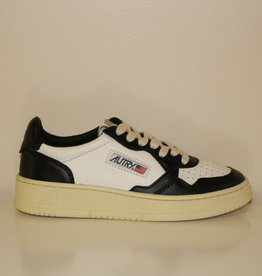 Autry AULWBU05 all leather white/black