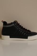 Jarrett JE1SN014 hoge sneaker Adriacolors nero