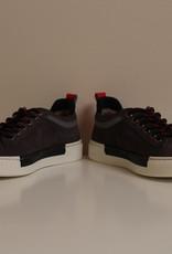 Jarrett JE1SN011 hoge sneaker velour anthracite