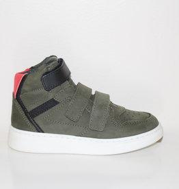 HIP H1995 sneaker groen/rood/zwart