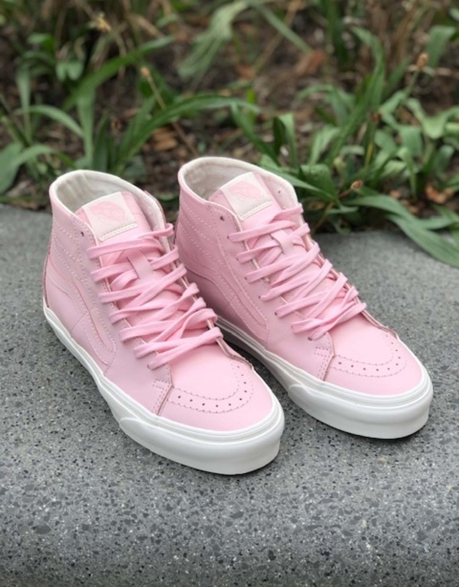 Vans UA SK8-HI hoge sneaker soft leather roze