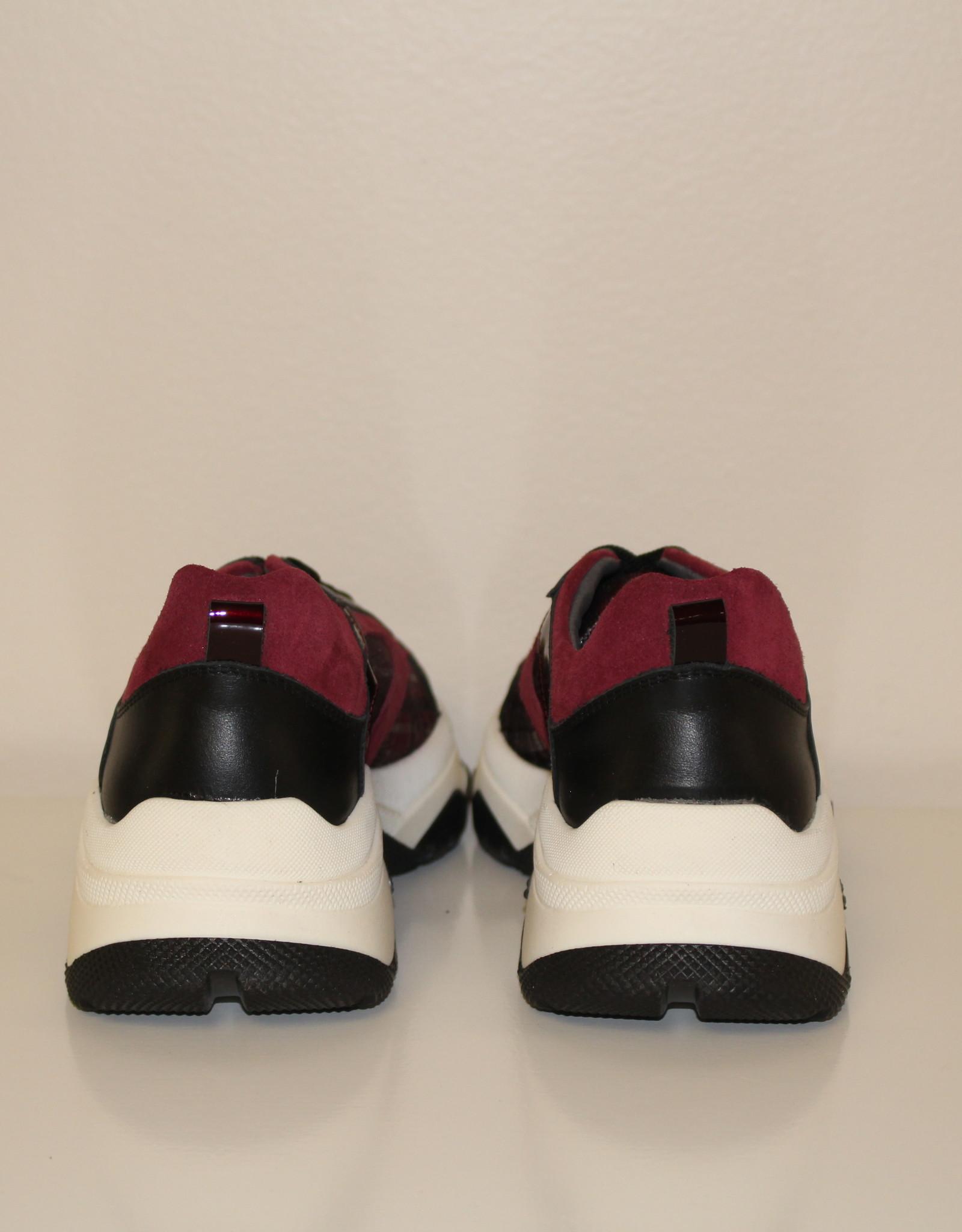 La Triboo 8501 sneaker bordeaux