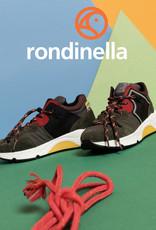 Rondinella 11783A sneaker kaki rood