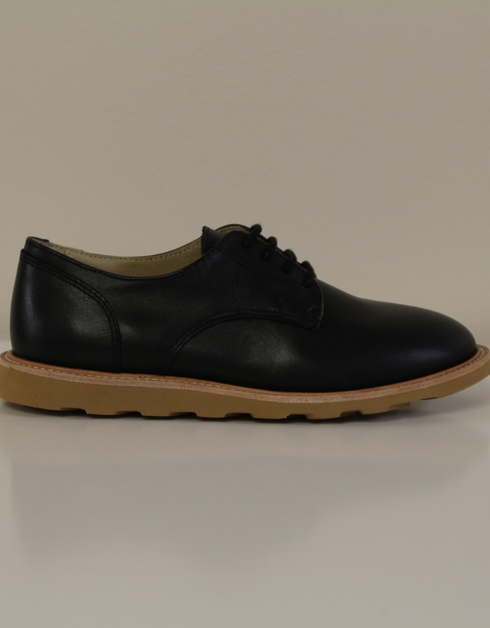 Young Soles Reggie leather derby black