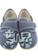 Kitzbuhel 3722 marine slipper blue tiger