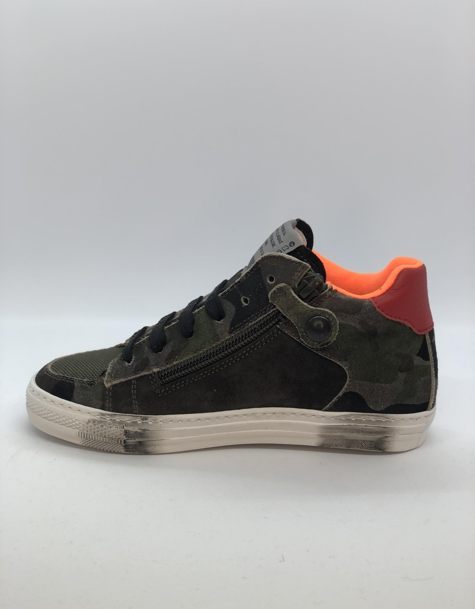 Rondinella 11851C sneaker ster veter/rits
