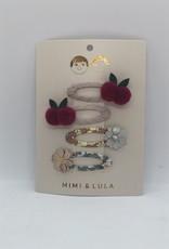 Mimi & Lula clips bloem/kersjes