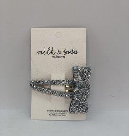 Milk&Soda MSHC18002 Milk & Soda Razzle dazzle bow snap clip