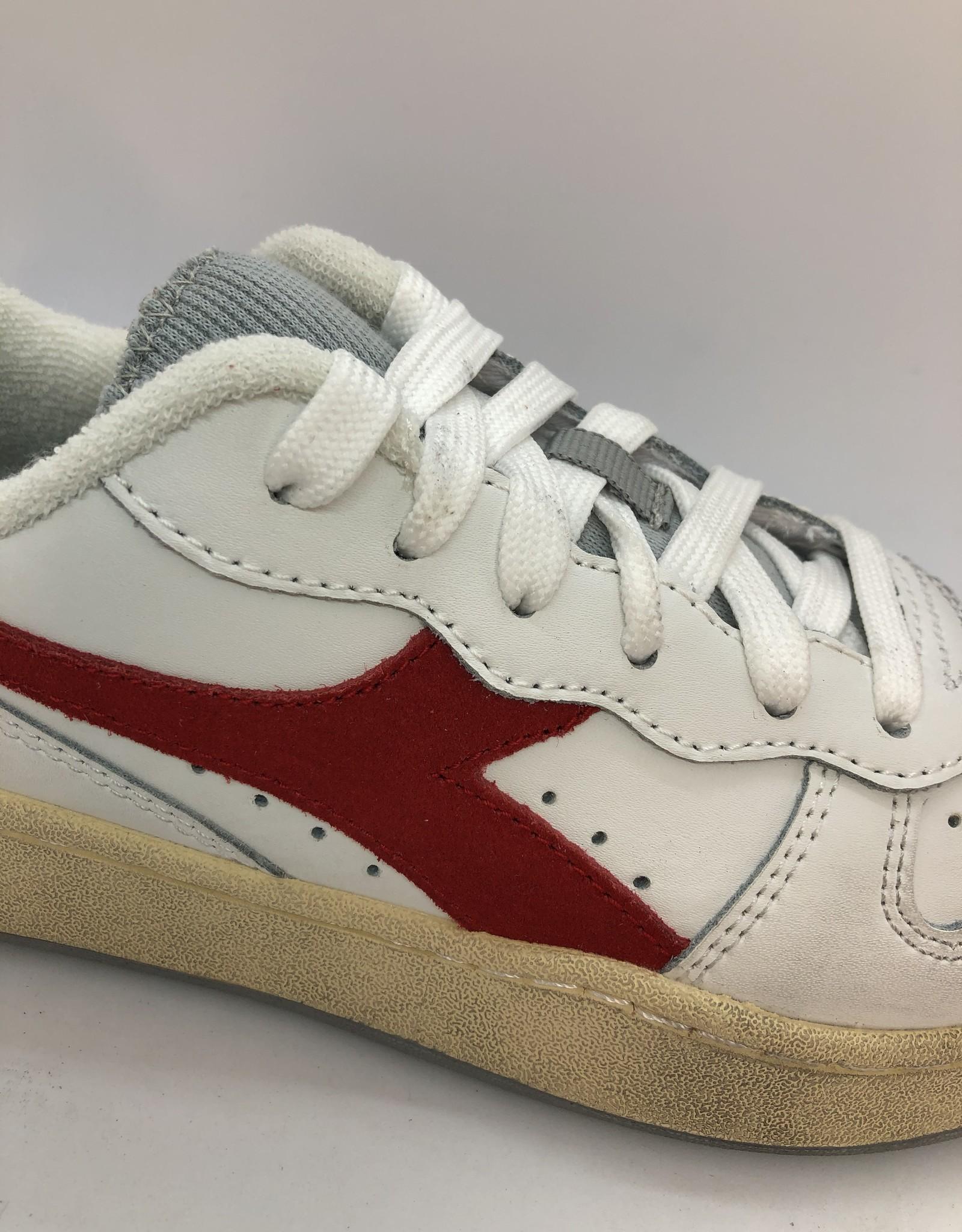 Diadora mi basket low Icona white/red