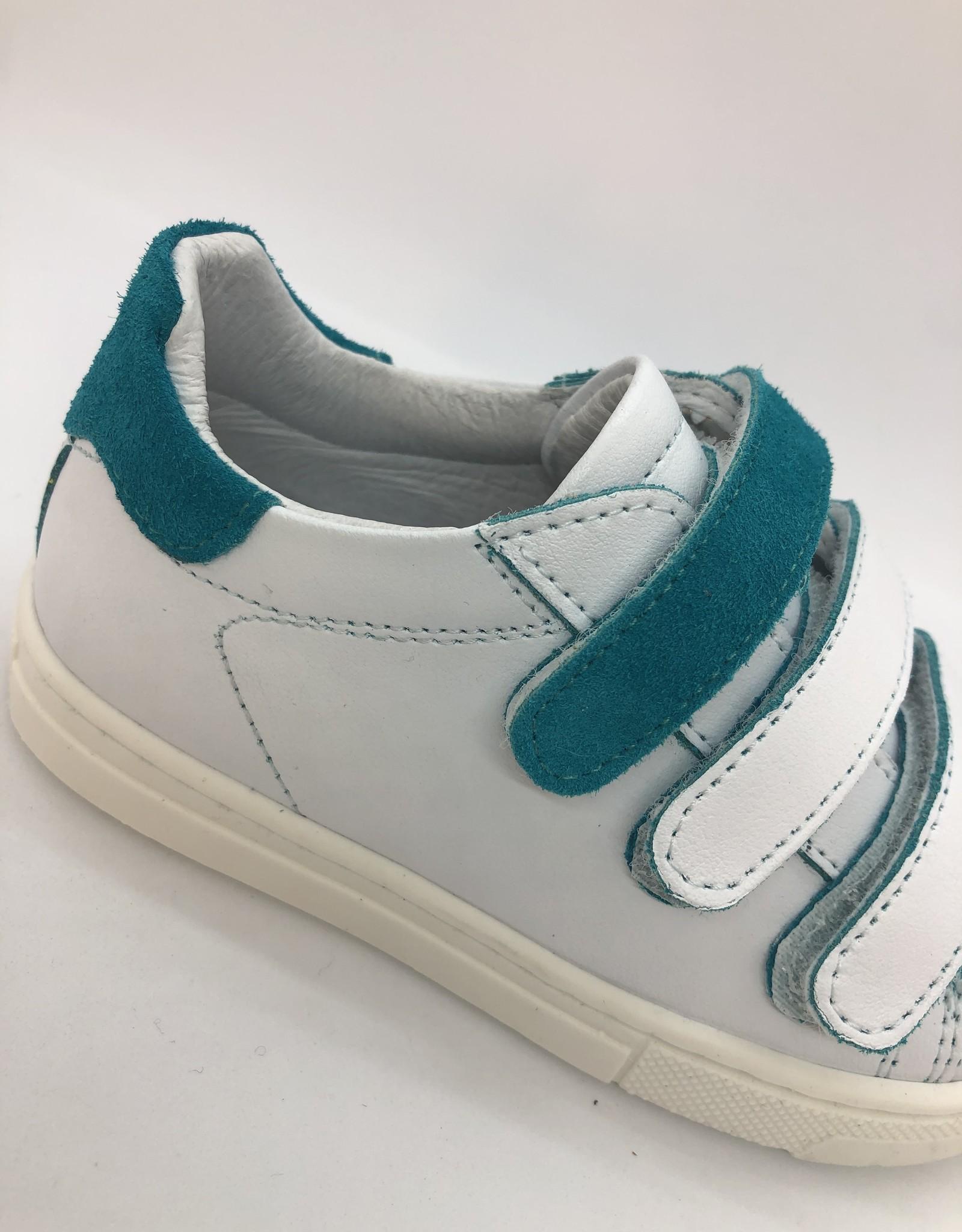 La Triboo 8772 witte sneaker velcro caraibi